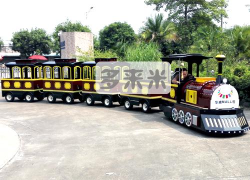 无轨电动小火车